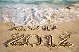 beach new year