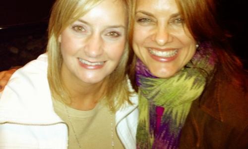 Lisa Larter and Christine Kane