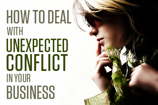 How to Deal with Unexpected Conflict in your Business by Christine Kane, Uplevel You