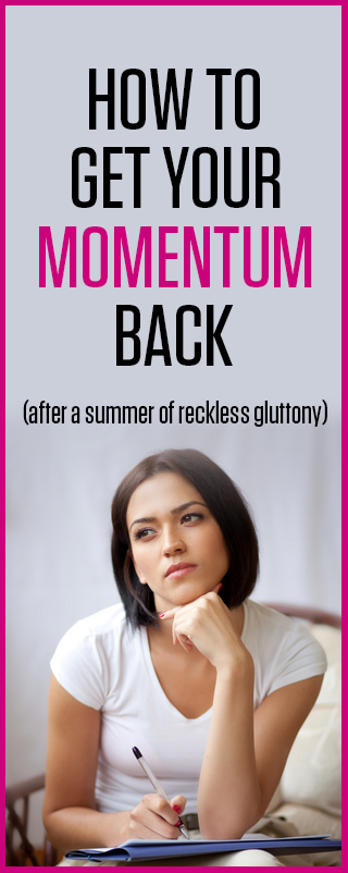 How to Get Your Momentum Back! | by Christine Kane
