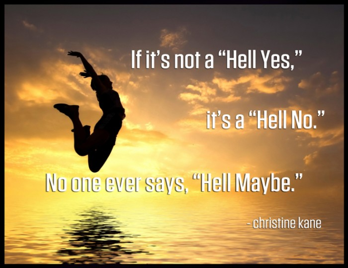 """Hell Maybe!"""