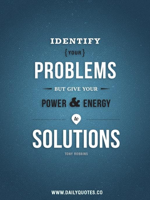 SolutionsNotProblems
