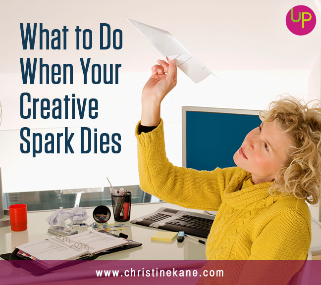What to Do When Your Creative Spark Dies