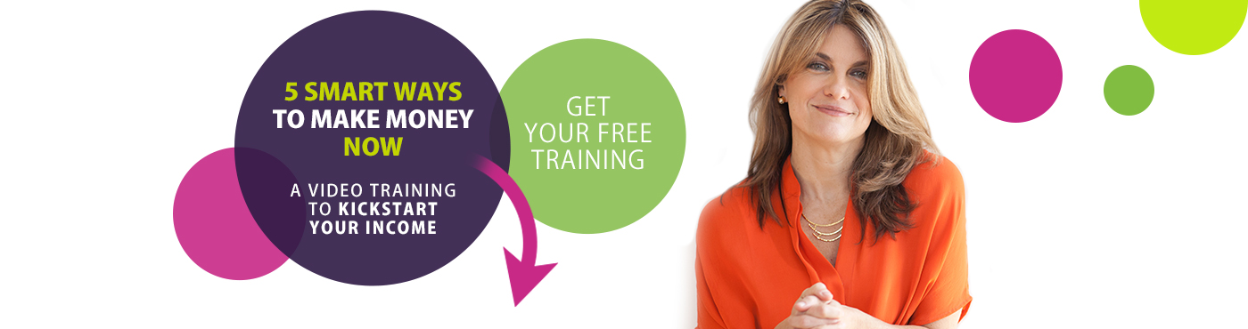 Get your free training.  5 Smart Ways to Make Money Now!