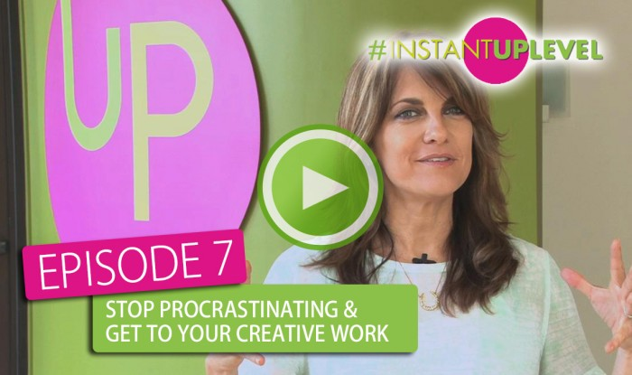 Stop Procrastinating & Start Creating
