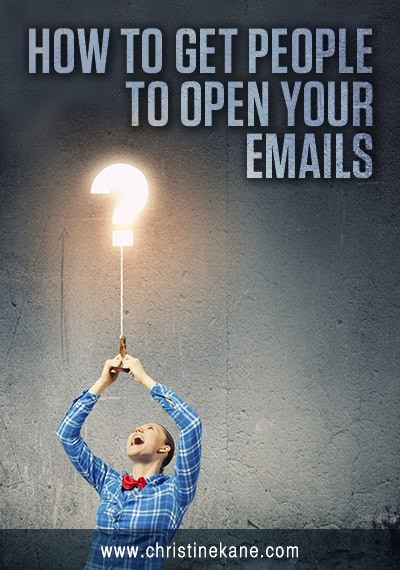 How to Get People to Open Your Emails
