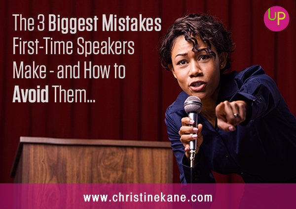 Mistakes First-TIme Speakers Make