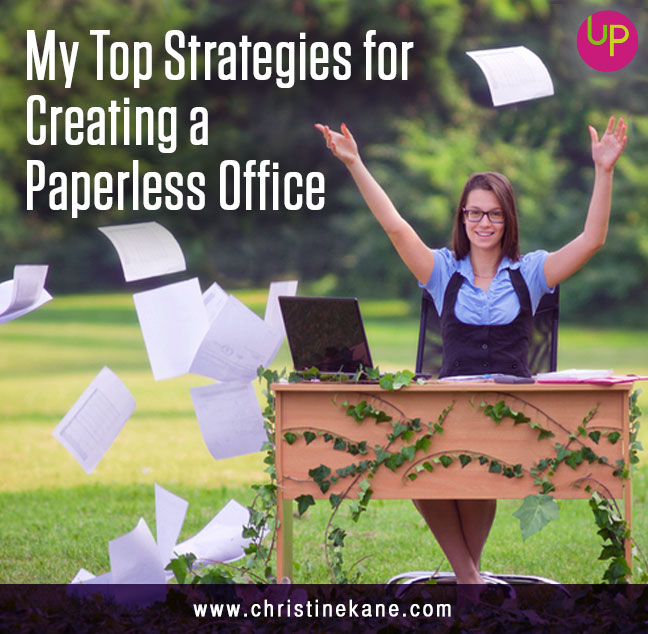 My Top Strategies for Creating a Paperless Office