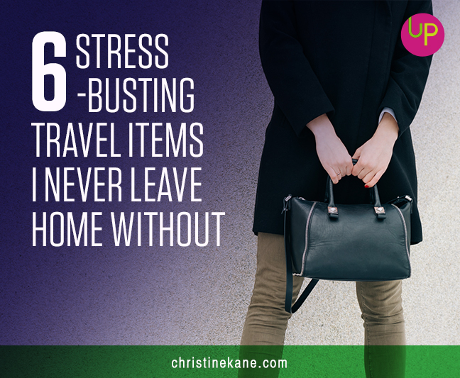 stress-busting travel items