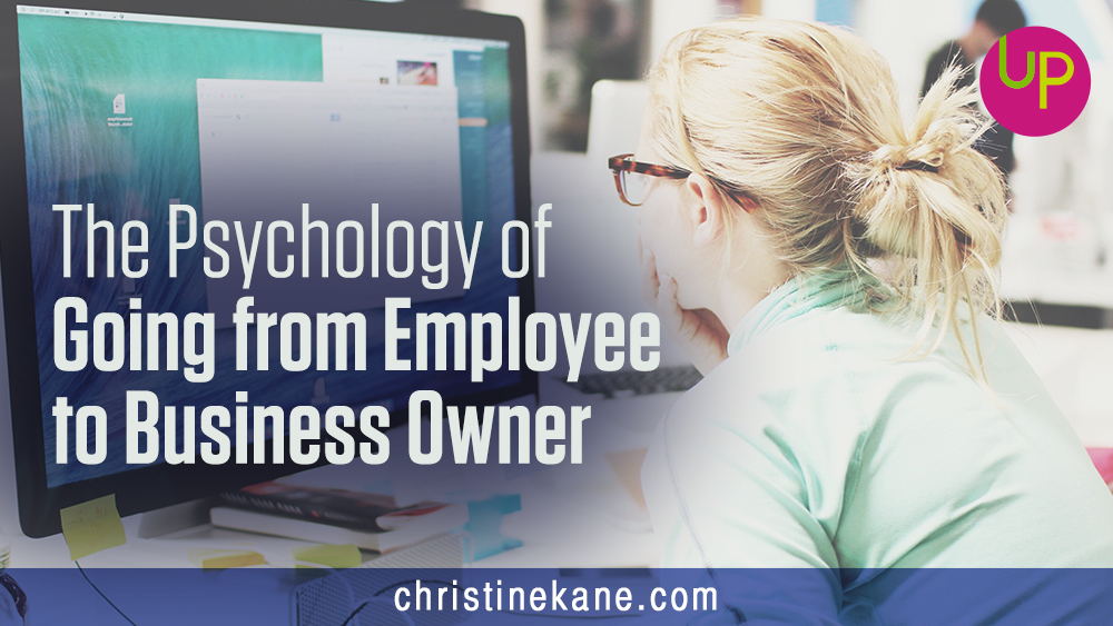Going from employee to business owner means you'll need to learn to rewire your brain. Here are the psychological shifts you'll face running your business.