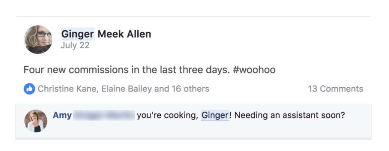 Ginger-testamonial